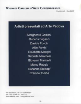 Kuenstler der Galerie Wikiarte bei der Messe Arte Padova 2011