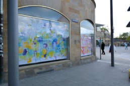 Hommage an Bayreuth unsere Eremitage im Digital Art Aquarell-Look