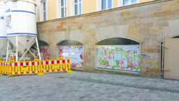 Hommage an Bayreuth unser Festspielhaus, Wilhelmine im Digital Art Aquarell-Look