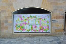 Hommage an Bayreuth unser Festspielhaus im Digital Art Aquarell-Look