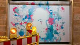 Hommage an Bayreuth Jean Paul im Digital Art Aquarell-Look