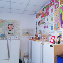 mein atelier im vorderen bereich