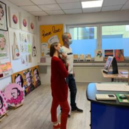 Ausstellung Artur23 im Atelier September 2020