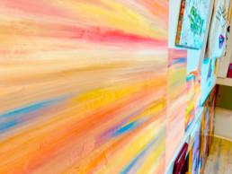 Ausschnitt aus der Ausstellung von ARTUR 23 in meinem Atelier im September 2020